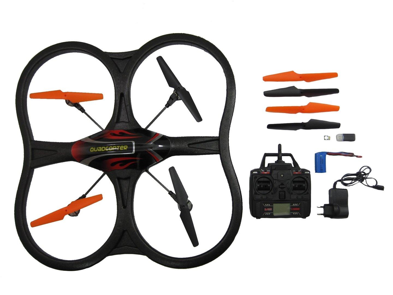wandamigo quadrocopter drohne mit kamera und 2 gb. Black Bedroom Furniture Sets. Home Design Ideas
