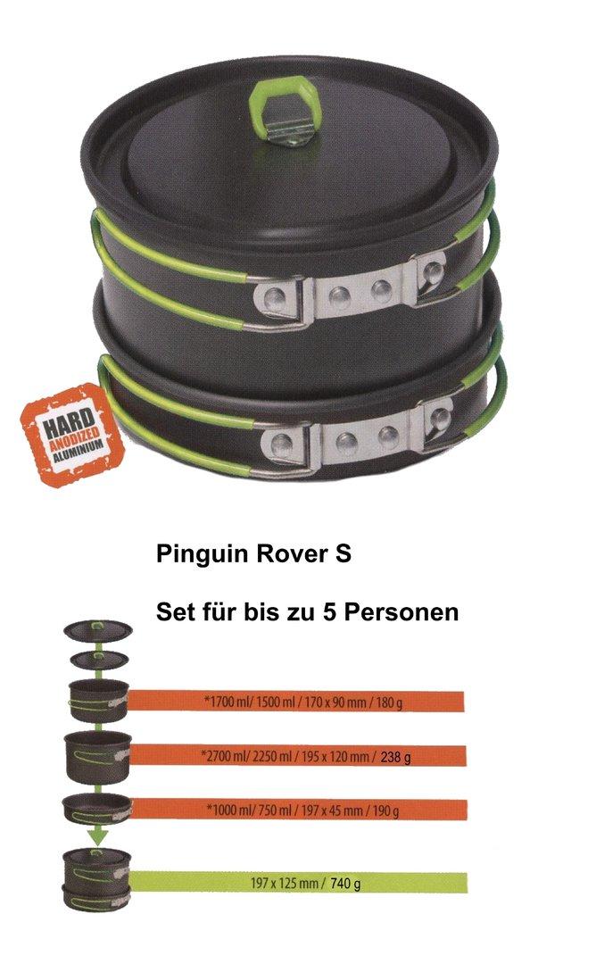 camping kochgeschirr set aluminium pinguin rs20 wandamigo. Black Bedroom Furniture Sets. Home Design Ideas